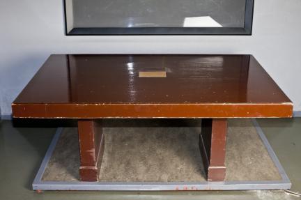 휴전협정 조인시 사용 책상