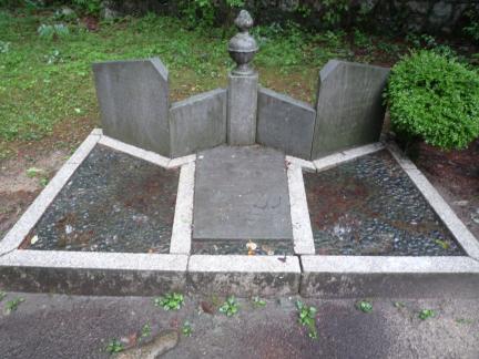 서울 이준 묘소 묘비