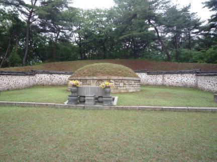 서울 손병희 묘소 전경