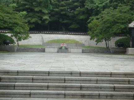 서울 안창호 묘소 전경
