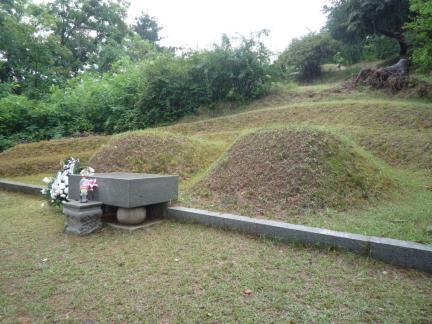 구리 한용운 묘소 전경