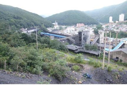 선탄장 전경(2008년 9월, 문화재청)