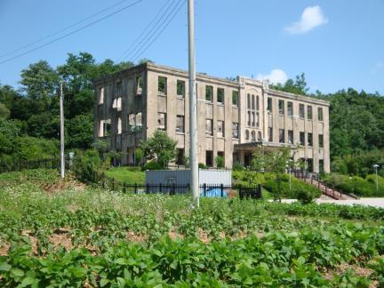건물 전경(2009년 7월, 문화재청)