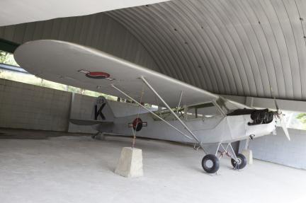 대한민국 최초 항공기(L-4 연락기)