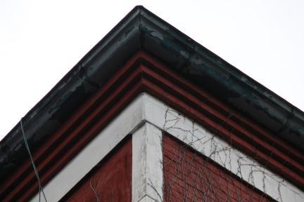 목포 천주교 구 교구청 지붕부