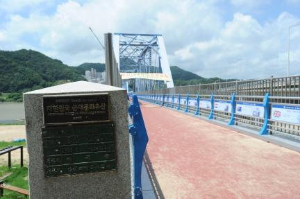 칠곡 왜관철교 (촬영:문화재청)