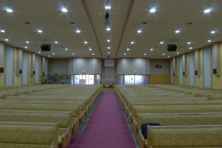 안동교회 예배당 - 2층 내부 - 20150915
