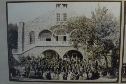 안동교회 예배당 - 옛 사진