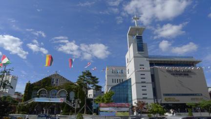 안동교회 예배당 - 원경 - 20150915