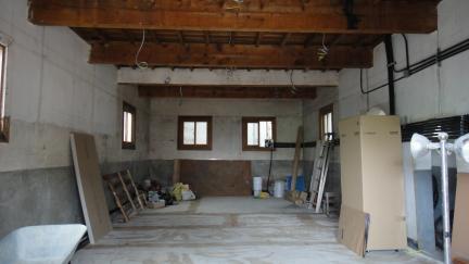 구 목포부청 서고 및 방공호/ 서고 1층 내부