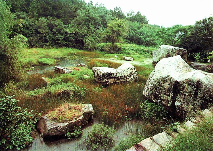 Yun Seon-do's Garden on Bogildo Island