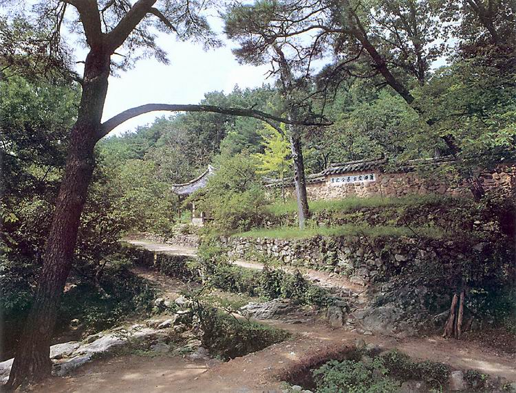 Soswaewon Garden in Damyang