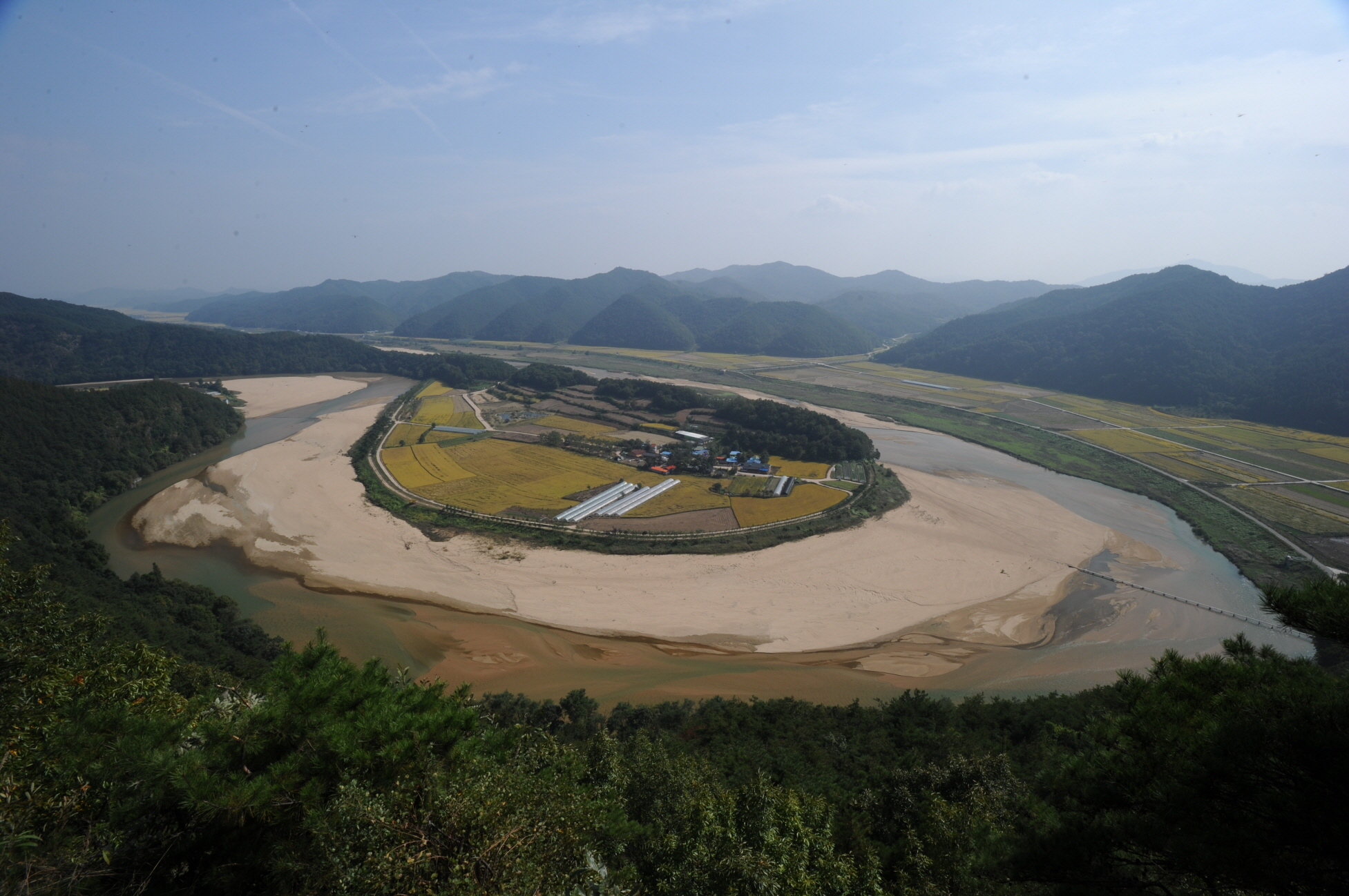 Hoeryongpo Winding Water-course in Yecheon