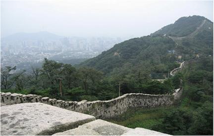 서울 백악산 일원