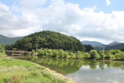 환벽당 원림 전경, 광주광역시 북구청 사진제공