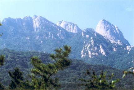 삼각산전경