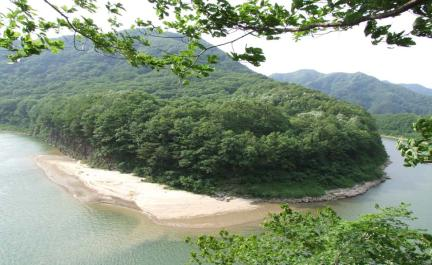 포천 한탄강 멍우리 협곡