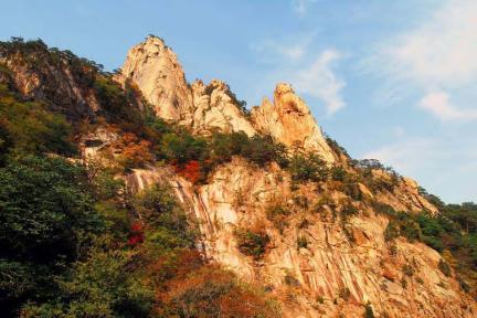 설악산 비선대와 천불동계곡 일원