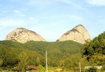 진안마이산전경