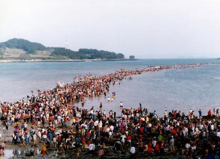 진도의바닷길