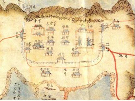법성진 지도(고지도)