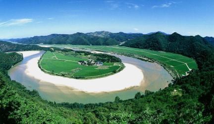 예천회룡포 여름