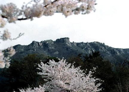 남해금산 원경