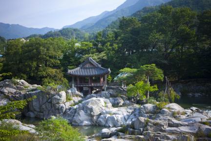 함양 화림동 거연정 일원(여름)