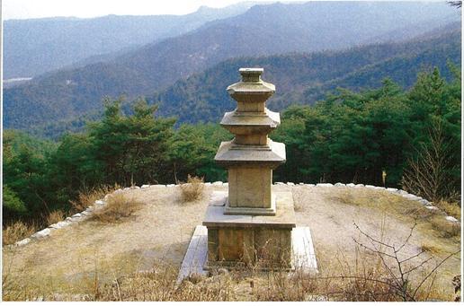 경주남산 국사곡 제4사지 삼층석탑