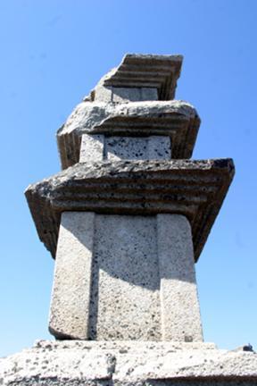 대견사지삼층석탑 옥개석