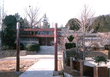 부평향교홍살문