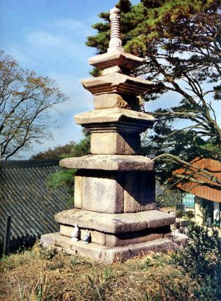 삼막사삼층석탑