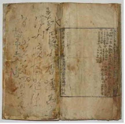 조선초기 1490년에 판각된 이후 여러차례 인출된 후쇄본으로 보임