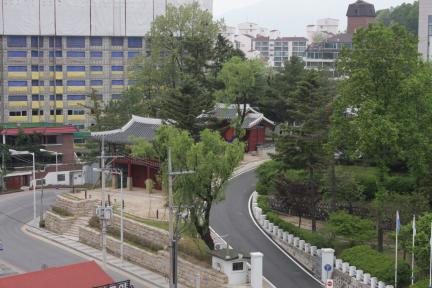 조양루 원경