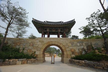 낙산사홍예문 (촬영:문화재청)