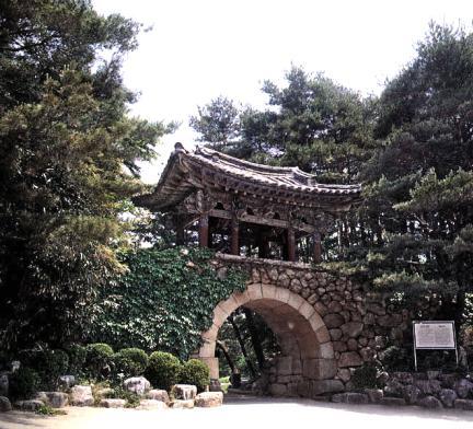 낙산사홍예문