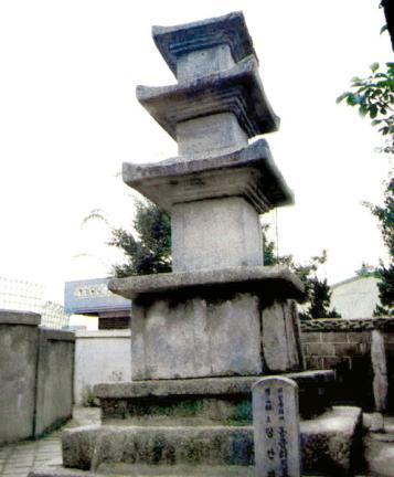 동문리오층석탑