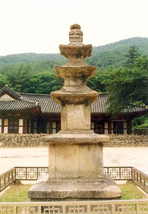 내소사삼층석탑