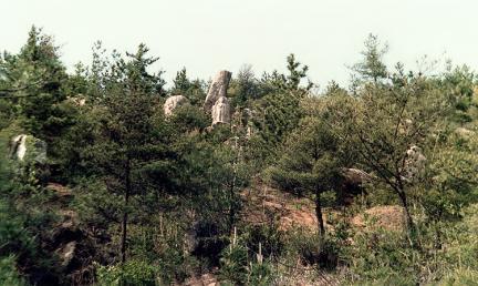 삼릉계곡마애관음보살상