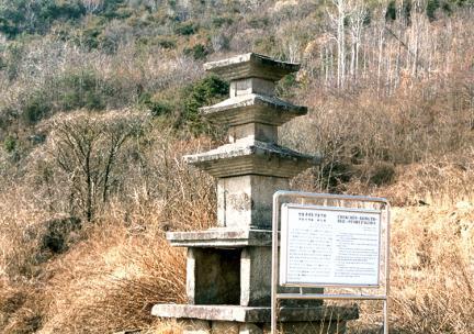 안동죽전동삼층석탑