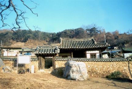 안동삼산정(전경)