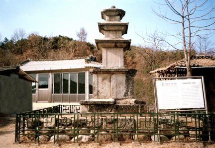 예천간방리삼층석탑