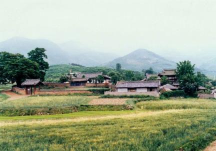 청도향교(원경)