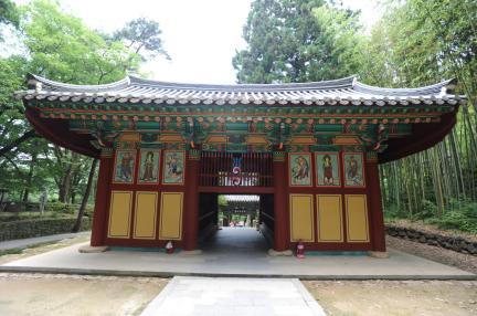 쌍계사금강문 (촬영:문화재청)