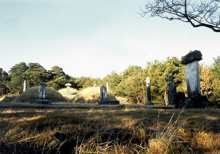 함양평촌리옥계신도비(전경)