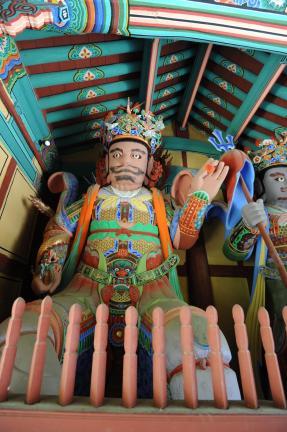 하동쌍계사사천왕상 (촬영:문화재청)