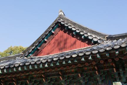 동화사극락전 팔작지붕