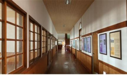 인천창영초등학교(구)교사(1층 복도)
