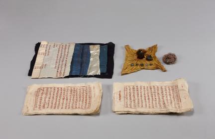 백운사 소장 목조아미타여래좌상 및 복장유물