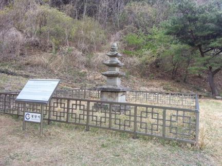 광양 성황리 삼층석탑
